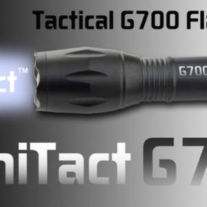 Tacticaline taskulamp G700
