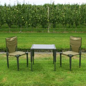 Matkalaud koos 2 tooliga Bushlife
